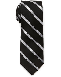 Pierre Cardin Silk Stripe Slim Tie
