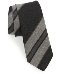Stripe linen tie medium 1150156