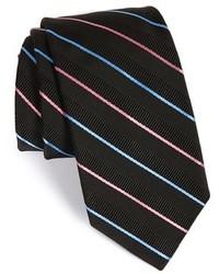 Robert Talbott Stripe Silk Cotton Tie