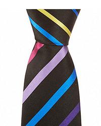 Bugatchi Striped Silk Traditional Tie