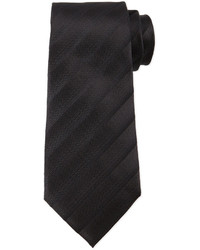 Tonal dressy stripe tie black medium 337433