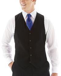 Black stripe vest medium 309174
