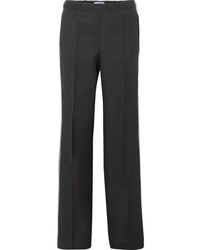 Prada Striped Gabardine Track Pants