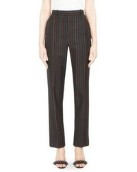 Givenchy Multicolor Pinstripe Wool Trousers