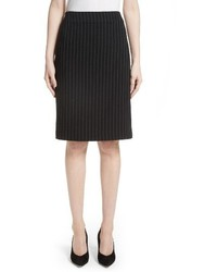 Pinstripe pencil skirt medium 4344470