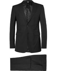 Burberry London Black Slim Fit Wool Suit