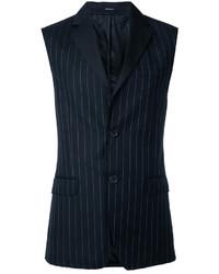 Alexander McQueen Pinstripe Waistcoat