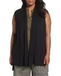 Eileen Fisher Plus Size Lightweight Jersey Vest