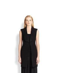 The Row Taseno Vest Black