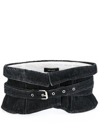 Isabel Marant Wide Waist Denim Belt