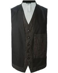 Ann Demeulemeester Panelled Waistcoat