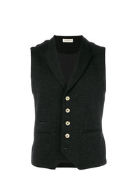 Al Duca D'Aosta 1902 Fitted Buttoned Waistcoat