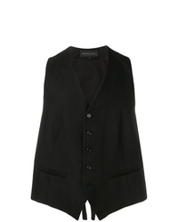 Ann Demeulemeester Single Breasted Waistcoat