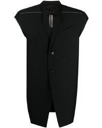 Rick Owens Sleeveless Single Breasted Jacket