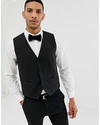Selected Homme Tuxedo Waistcoat
