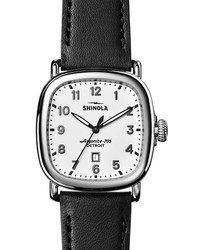 Shinola 41mm Guardian Watch Blackwhite