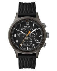 Timex Allied Chronograph Silicone Strap Watch