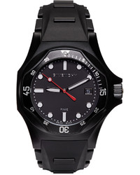 Givenchy Black Five Shark Watch
