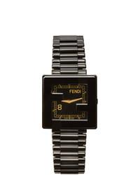 Fendi Black Mania Watch