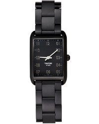 Tom Ford Black Matte Stainless 001 Watch
