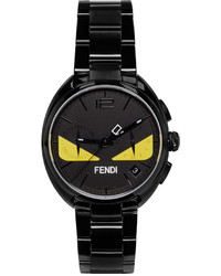 Fendi Black Moto Bugs Watch