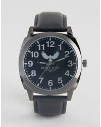Brave Soul Black Watch With Black Dial