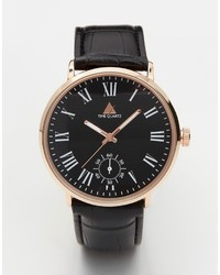 Asos Brand Watch With Roman Numerals