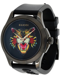 Gucci G Timeless Angry Cat Watch