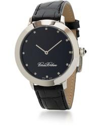 Brooks Brothers Gentlemans Diamond Dress Watch