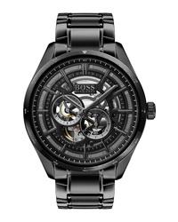 BOSS Grand Prix Automatic Bracelet Watch