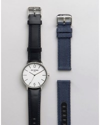 Ben Sherman Interchangable Strap Watch Gift Set