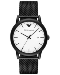 Emporio Armani Mesh Strap Watch 43mm
