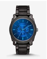 Express Rivington Multi Function Laser Crystal Watch