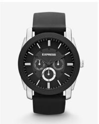 Express Rivington Multi Function Watch Black