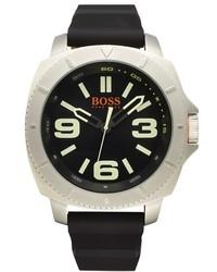 Boss Orange Sao Paulo Silicone Strap Watch 54mm