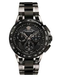 Versace Sport Tech Chronograph Bracelet Watch