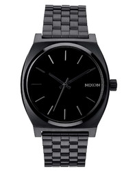 Nixon The Time Teller Stainless Bracelet Watch