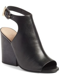 Tory Burch Grove Open Toe Bootie