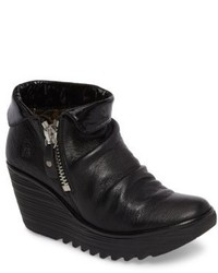 Fly London Yoxi Wedge Bootie