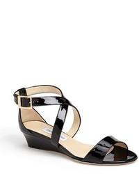 Jimmy Choo Chiara Strap Wedge Sandal