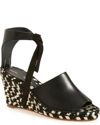 Proenza Schouler Peep Toe Wedge Sandal