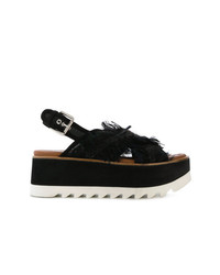 885a25c9b1b6 Asos ASOS TAMMI Lace Up Wedge Sandals