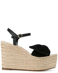Valentino Woven Wedge Sandals