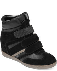 Black wedge sneakers original 1592763