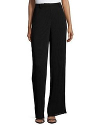 MCQ Alexander Ueen Pleated High Waist Pants Black