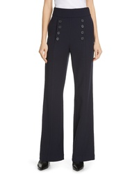 Joie Ardina High Waist Wide Leg Sailor Pants