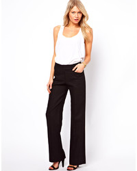 Asos Linen Pants In Wide Leg