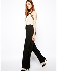 Asos Pants In Slouch Wide Leg