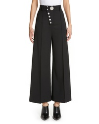 Alexander Wang Asymmetrical Fly Wide Leg Pants