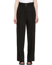 3.1 Phillip Lim Black Paper Bag Waist Trousers